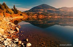 Sunrise, Colibita lake, Rasarit pe Lacul Colibita, Romania