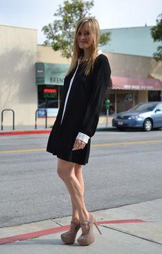 Cute dress! <3 Alexa Chung for Madewell dress & Steve Madden heels.