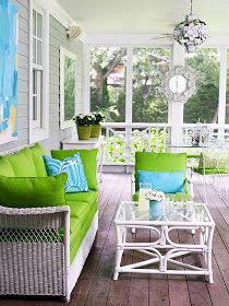 Palatial Living: Pretty Up Your Porch & Super Sunrooms x