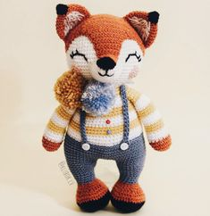 Everything about Amigurumi knitting toys is waiting for you on this site. In our article we will show you 50 amigurumi crochet free patterns. Crochet Pikachu, Crochet Fox, Crochet Animals, Crochet Dolls, Free Crochet, Crochet Toys Patterns, Amigurumi Patterns, Stuffed Toys Patterns, Pattern Cute