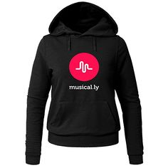 Musical.ly Wave Classic For Ladies Womens Hoodies Sweatshirt Pullover http://amzn.to/2iErZms