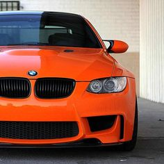 Ok, I love orange and I love BMW 3 Series cars... but this might just be too much! Inspired by automative design & color: BMW #orange #colors
