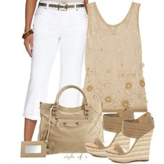 Pretty Neutrals - good for traveling or Downtown Disney day