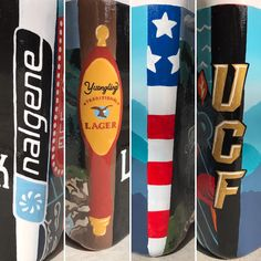 Painted frat cooler #corners #UCF #nalgene #yuengling #american flag Fraternity Coolers, Frat Coolers, Fathers Day Gift Basket, Fathers Day Presents, Sorority Canvas, Sorority Paddles, Sorority Recruitment, Formal Cooler Ideas, Cooler Designs
