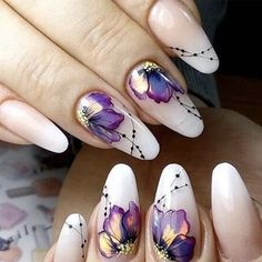 you should stay updated with latest nail art designs, nail colors, acrylic nails, coffin… Nail Designs Spring, Nail Art Designs, Latest Nail Designs, Nail Art Flowers Designs, Creative Nail Designs, Pretty Nail Designs, Cute Nails, Pretty Nails, Gel Nails