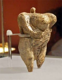 The Venus of Hohle Fels is an Upper Paleolithic Venus figurine dated to between 35 000 and 40 000 years ago, belonging to the early Aurignacian, and is the oldest undisputed example of Upper Paleolithic art and figurative prehistoric art in general