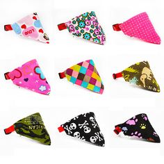 Colorful Bandana Collar //PRICE: 3.82 & FREE Shipping    #microstylist #pets #cats #dogs #accessories #supplies #merchandise #doglover #catslave #freeshipping #worldwide