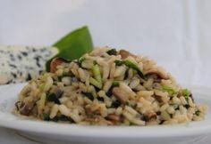 Gombás-gorgonzolás rizottó medvehagymával Top 5, Naan, Fried Rice, My Recipes, Grains, Dishes, Vegetables, Ethnic Recipes, Food