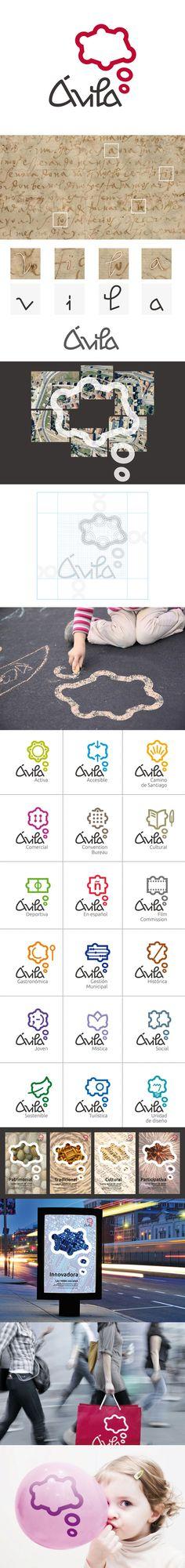 Identity for Avila, Spain #city_brand 2012