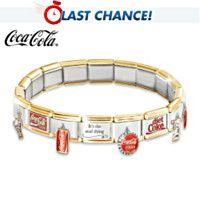 108730001 - The COCA-COLA Ultimate Italian Charm Bracelet