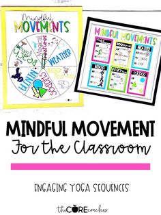Mindful movement yoga sequences.