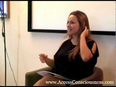 A taste of an Access Bars™ class...and what people are saying :-) www.divadiaz.accessconsciousness.com