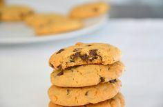 Bolachas de Chocolate e Manteiga de Amendoim (Peanut Butter and Chocolate Cookies)