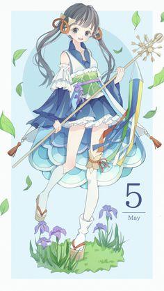 Manga Anime, Film Manga, Anime Chibi, Kawaii Girl Drawings, Kawaii Art, Cute Drawings, Anime Girl Cute, Anime Art Girl, Character Art