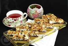 "Prajitura cu nuca si marmelada ""Damenkapritzen"" Romanian Desserts, Romanian Food, Sweets Recipes, Something Sweet, Creative Food, Cake Cookies, Sweet Tooth, Sweet Treats, Good Food"