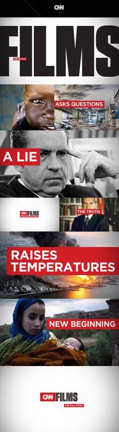 CNN Films on air design look and feel by joseph kiely design