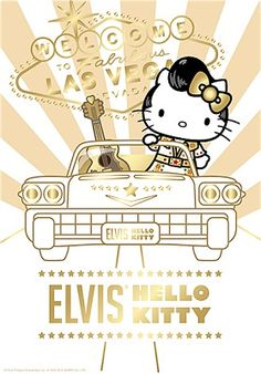 Hello Elvis ... For my Hello Kitty fans :)....frickin adorable!!!
