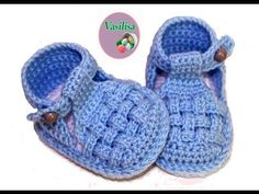 DIY crochet sandals for beginners Vasilisa with English subtitles video baby booties crochet for beginners Watch this free video tutorial to learn how to make it booties sandals gift for a baby girl on her first birthday Diy, Baby, Booties, Boot, Sonia Fa Diy Crochet Sandals, Crochet Baby Boots, Knitted Booties, Crochet Bebe, Crochet Baby Clothes, Crochet For Boys, Baby Booties, Crochet Shoes, Baby Slippers