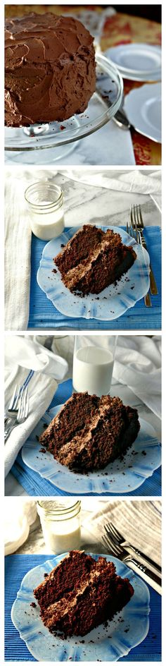 This rich delicious moist chocolate cake will have your family and friends demanding more.