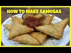 How to make Samosa - homemade - Ramadan Recipes How To Make Samosas, Samosa Recipe, Indian Cookbook, Fried Fish Recipes, Ramadan Recipes, Chutney Recipes, Indian Dishes, Indian Food Recipes, African Recipes