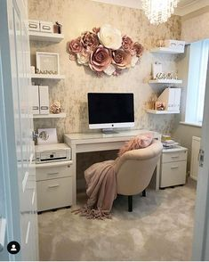 Let's talk about sexy home office spaces . Home Office Design, Home Office Decor, Home Design, Design Ideas, Decor Interior Design, Interior Decorating, Decoration Bedroom, Living Room On A Budget, Online Furniture Stores