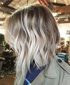 22 Attractive Short Balayage Hairstyles 2018 for Women