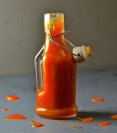 WARNING! This seriously Fiery Habanero Hot Sauce is not for the faint hearted!