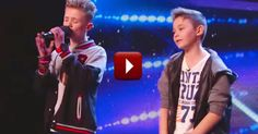 Two talented boys give an old song a new twist. You'll be touched when you see what inspired this amazing performance.