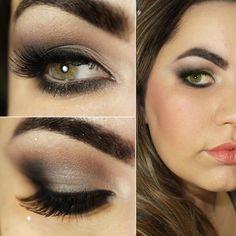 Tutorial – maquiagem neutra com paleta da Contém 1g