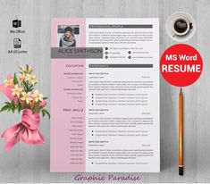 12 professional ms word resume template for best price resume image 4