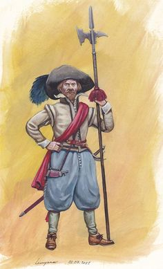 blackpen shop - Holland Sergeant XVII c. Pict_ren_014