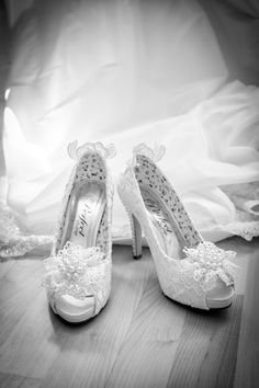 Perfect vintage shoes, a great mix of classy shoes and vintage lace detail photography by Pixies in the Cellar