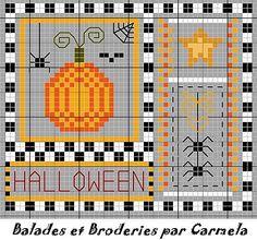 Halloween from Balades et Broderies