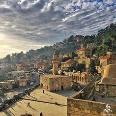 Amazing view of Deir El Amar! By @elyskaff #WeAreLebanon