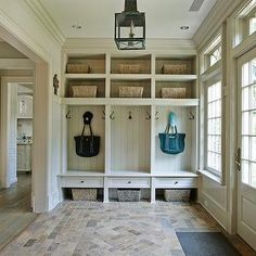 Love this floor for the entry/mudroom