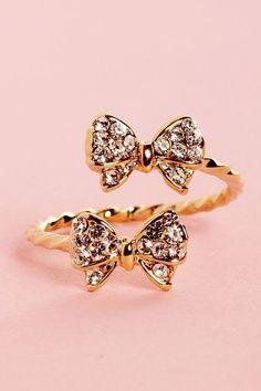 fashion shoe, style, accessori, doubl bow, jewleri, bows, jewelri, bow ring, thing