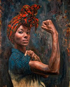 This Artist Paints Portraits Of Strong African-American Women