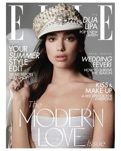 Dua Lipa Opens Up About the Benefits of Being Single! Dua Lipa is on the cover of Elle UK's June 2018 issue, out on May Here's what the Nelly Furtado, Christina Aguilera, Uk Magazines, Elle Magazine, Magazine Covers, Vogue, Fashion Cover, Modern Love, Kiss Makeup