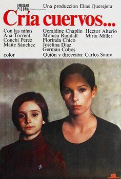 "87. ""Cria Cuervos"" de Carlos Saura avec GéraldineChaplin, Monica Randall. Espagne. 1976"