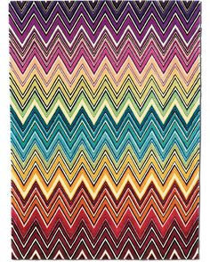 missoni rug...a bit more than I would spend at the moment BUT would look great in my office one day.