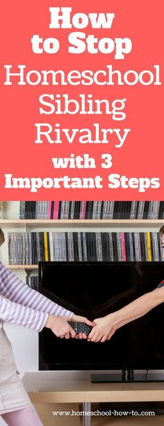 Learn how to address homeschool sibling rivalry in the right way  and help your children handle stress and disappointment the right way.