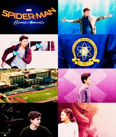 ➢▩ #Tom Holland on set of Spider-Man: Homecoming S##