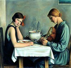 La tailleuse de soupe François-Emile Barraud (1899 – 1934, Swiss)