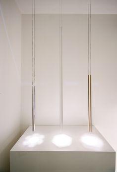 Rutil lamps, Euroluce 2017 #luxury #lighting #design #LED #LEDlamp  #minimalist #interior #homedecor #Euroluce #Euroluce2017 #exhibition #Inarchi Luxury Lighting, Lighting Design, Led Lamp, Lamps, Minimalist Interior, Divider, Furniture, Home Decor, Light Design