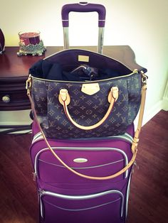 My perfect Travel buddy. Louis Vuitton Turenne GM.