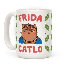 Frida Catlo Mug - More on the Blog Creative!