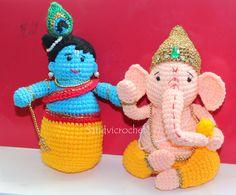 sandvicrochet: crochet ganesha