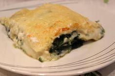 Lasagne épinard et chèvre