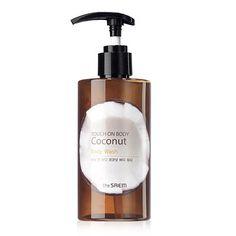 The Saem Touch On Body Coconut Гель для душа с экстрактом кокоса, The Saem, Очищающий уход|Кореядепарт