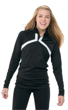 Product: Women's Half Zip Warm Up Jacket $35